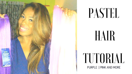 PASTEL HAIR TUTORIAL