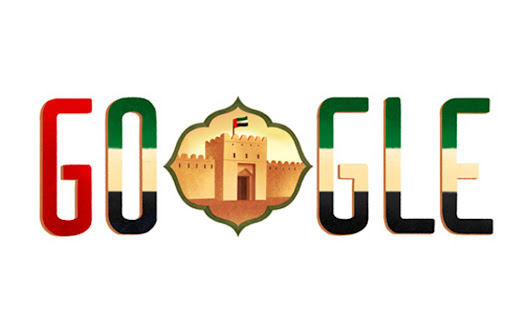 Google Doodle celebrates UAE 44th national day 2015