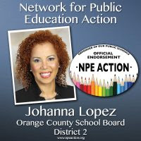 Johanna Lopez for Orange County School Board – District 2