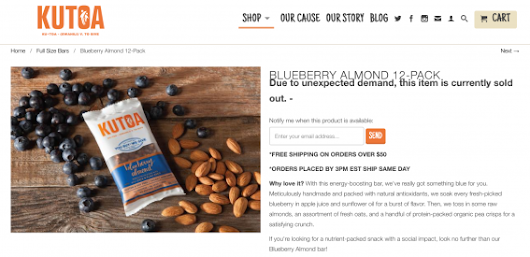 How to Optimize Out of Stock Product Pages