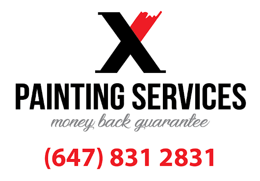 New X Painting Services Logo & phone - Free Online House Painting Estimator