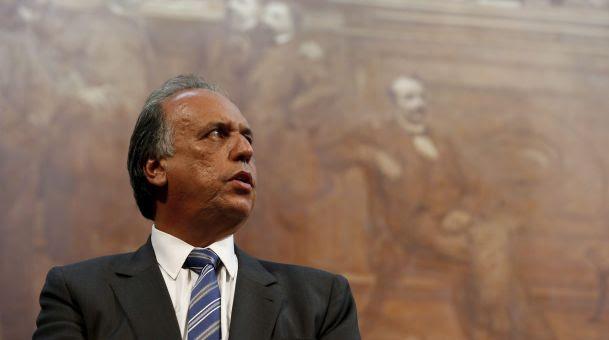 Governador do Rio de Janeiro, Luiz Fernando Pezão (Crédito: Domingos Peixoto / Agência O Globo)