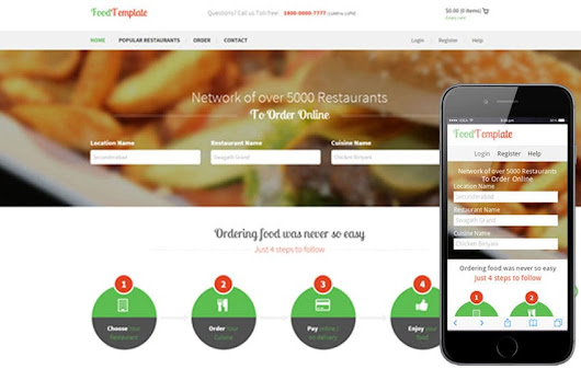 Food Template a Restaurant Flat Bootstrap Responsive web template by w3layouts