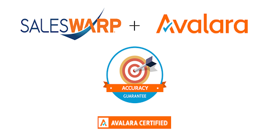 SalesWarp Integrates With Avalara - SalesWarp