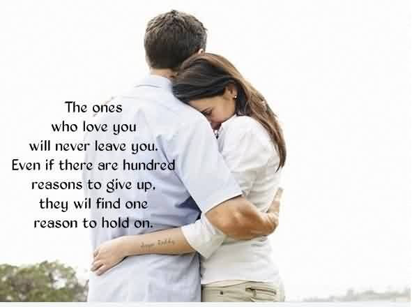 Romantic True Love Quote Image True Love Find One Reason To Hold You
