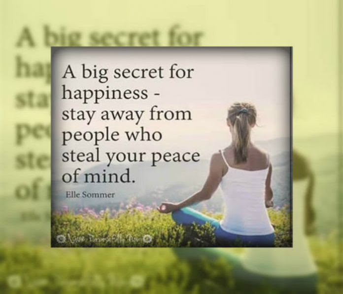 A Big Secret For Happiness Inspirational Quotes Pictures