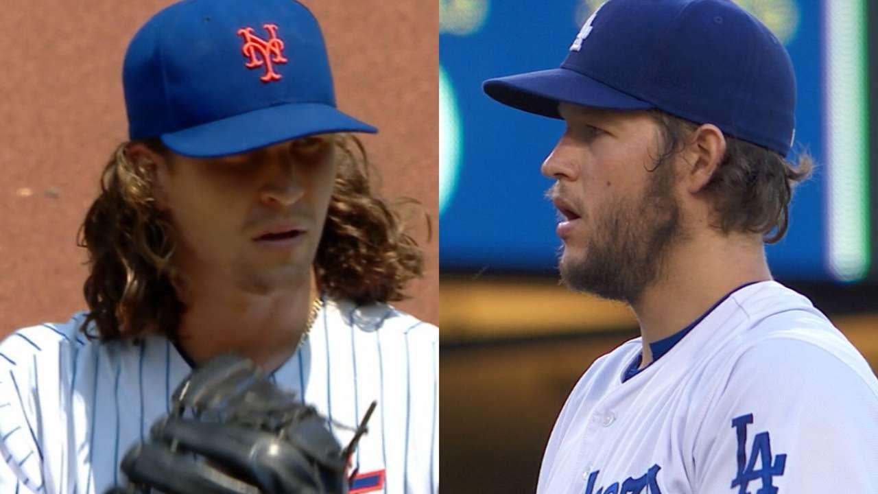 Dodgers put trust in rookies; Mets, lefties