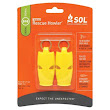 SOL Rescue Howler Ultralight Whistle 2-Pack - Emergency & Safety