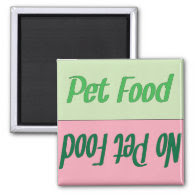 Pet Food Reminder Magnet