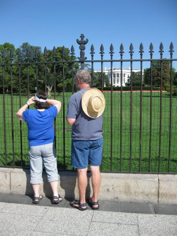 White House Fence #3 350 px