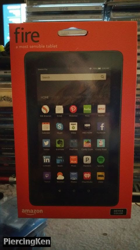 A Kindle Fire Joins The Metal Media Office