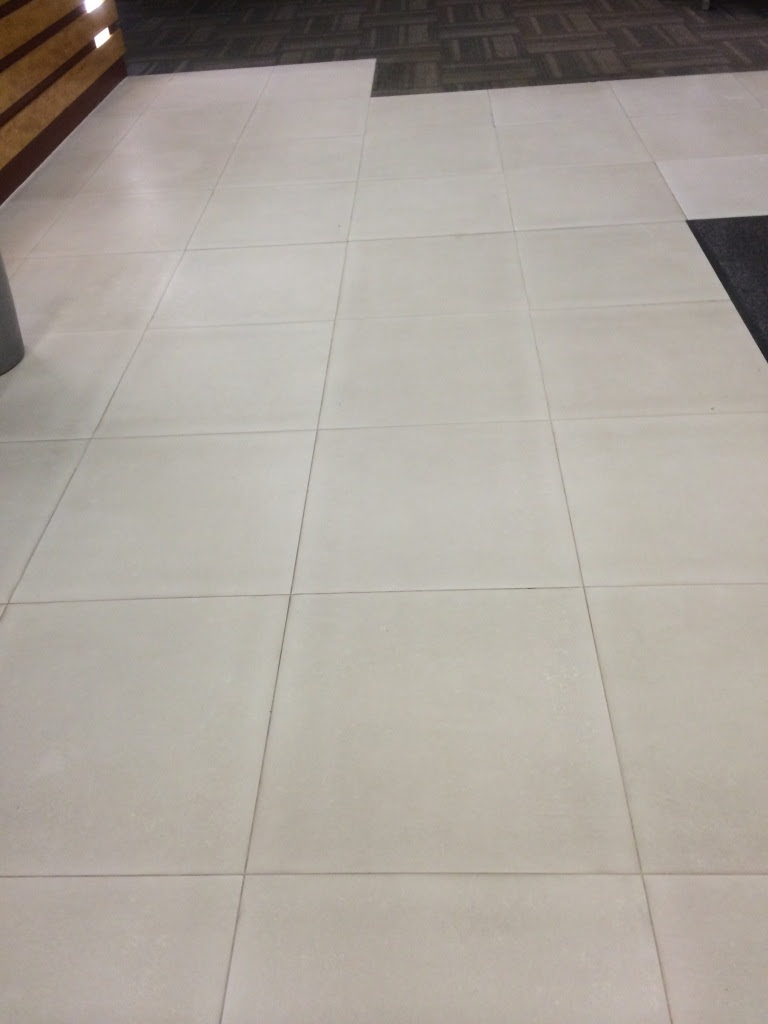 Cleaning White Porcelain Tiles at Premises in Aylesbury ...