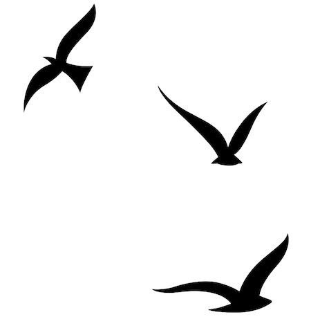 Silhouette Bird Tattoos At Getdrawingscom Free For Personal Use