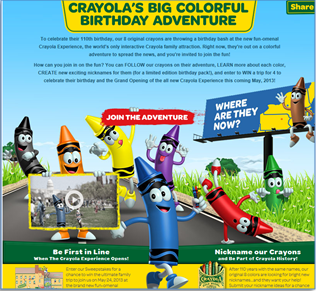 Happy 110th Birthday, Crayola!