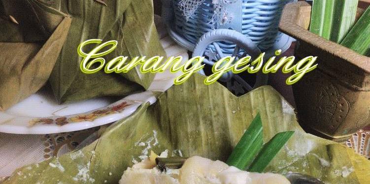 Resep Carang Gesing Pisang Nangka (Barongko) Oleh Yayuk Jumaeli