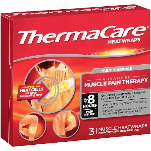 ThermaCare Heat Wraps, Muscle & Joint - 3 count