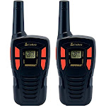 Cobra - 16-Mile 22-Channel FRS/GMRS 2-Way Radio (Pair) - Black