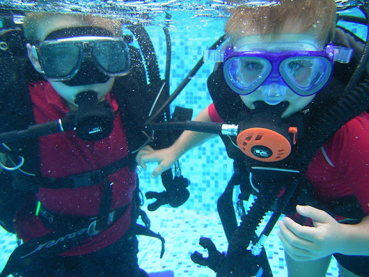 Scuba diving at La Grange du Moulin child friendly holiday cottages