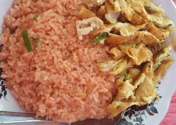 Resep Nasi Goreng Spesial + telur dadar Lezat