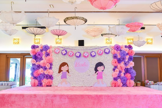 Karlie's Paper Dolls Themed Party - 1st Birthday - Party Doll Manila