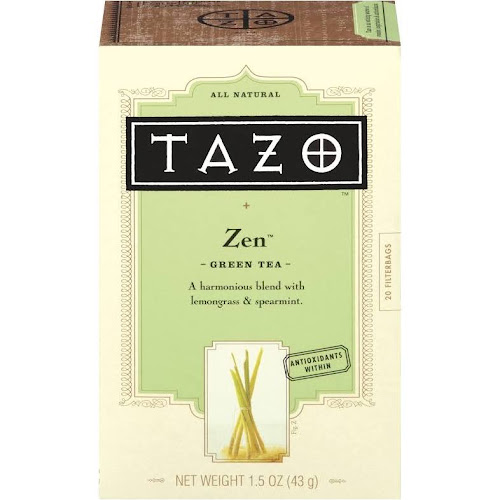 Tazo Zen Green Tea - 20 bags, 1.5 oz box