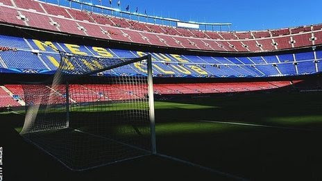 BBC Sport - Barcelona transfer ban appeal rejected by Court