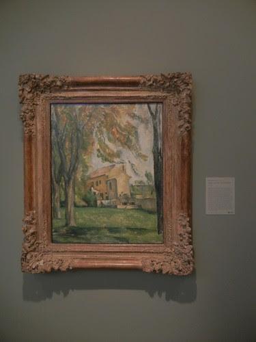 DSCN7758 _ Farmhouse and Chestnut Trees at Jas de Bouffan, 1884-1885, Paul Cézanne (1836-1906), Norton Simon Museum, July 2013