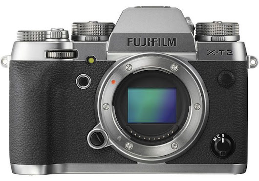 Fuji's New Graphite Editions of the X-T2 and X-Pro2
