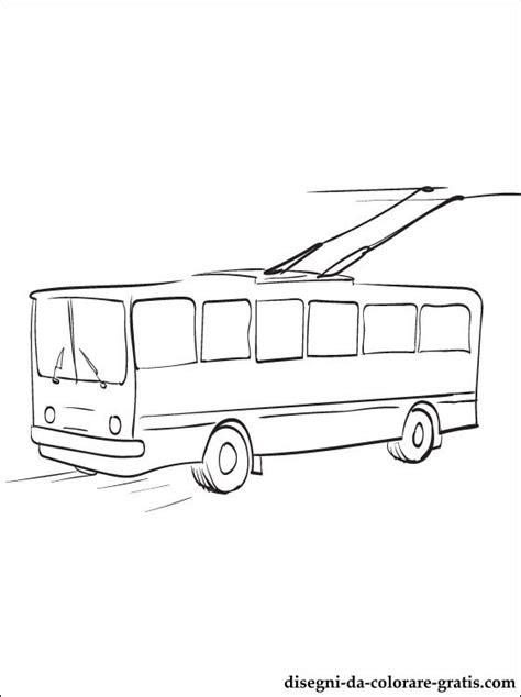 disegno filobus da stampare disegni da colorare gratis