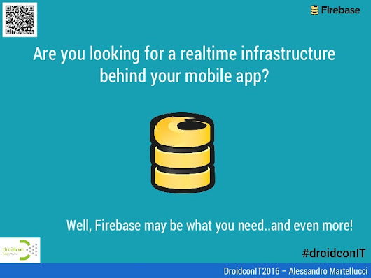 A realtime infrastructure for Android apps: Firebase may be what you …