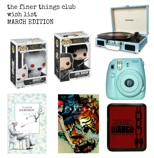 the finer things club lifestyle blog uk wish list gift ideas
