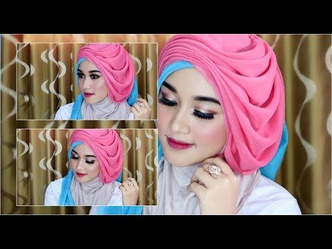VIDEO : cara hijab segi empat wisuda,wedding dengan  beragam pariasi dan model kekinian  1 - caracarahijab segi empatdengn beragam pariasi dan model kekinian mewah,elegan,cocok banget buat ...