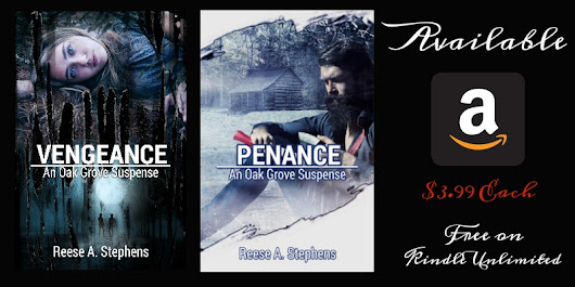 Book blast: Oak Grove Suspense Series by Reese A. Stephens