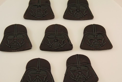 Chocolate Darth Vaders