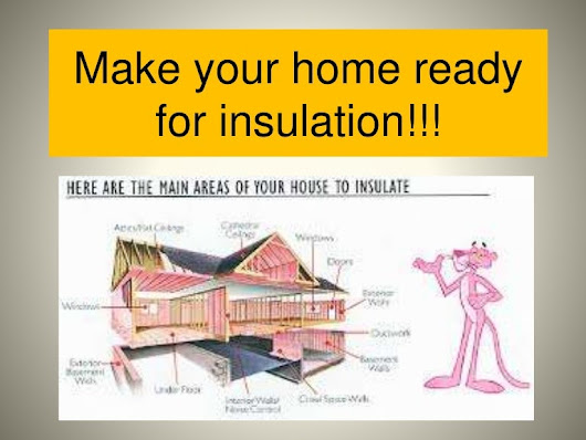 Make your home ready for insulation!!!