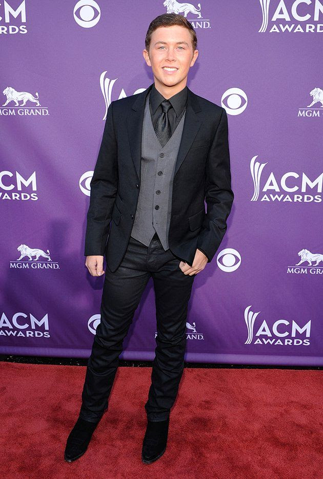 Academy of Country Music Awards - April 1, 2012, Scotty McCreery