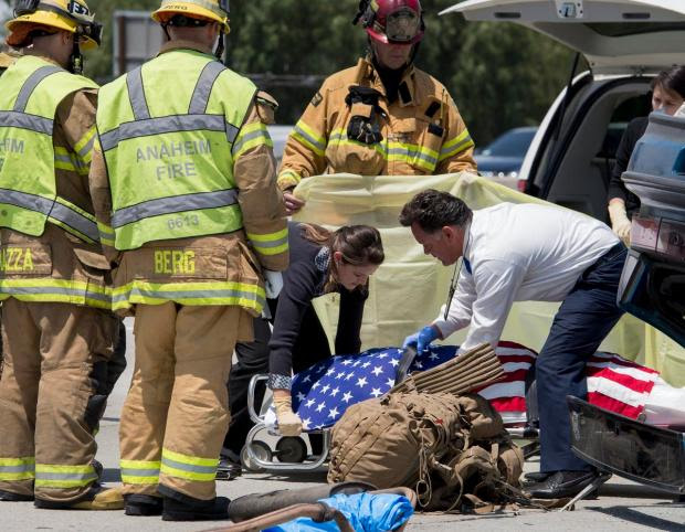 Marine from Garden Grove dies in crash on 57 freeway in ...