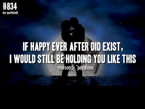 Song Lyrics If Happy Ever After Did Exist