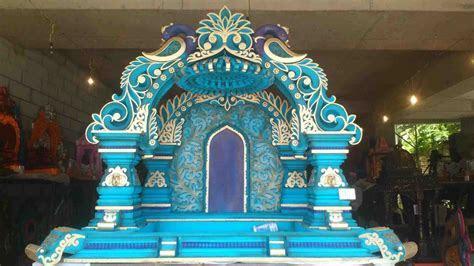 Make Thermocol Temple for Ganpati DIY Thermocol t