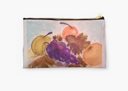 'ASian Pears 1' Studio Pouch by CCWillow