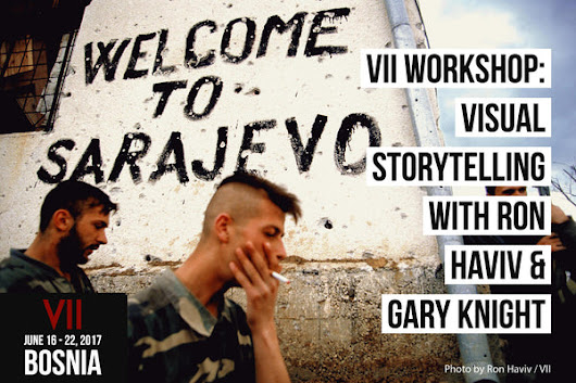 Visual Storytelling with Ron Haviv and Gary Knight [Deposit Only]