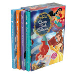 Disney Princess Chapter Book Collection: 4 Book Box Set