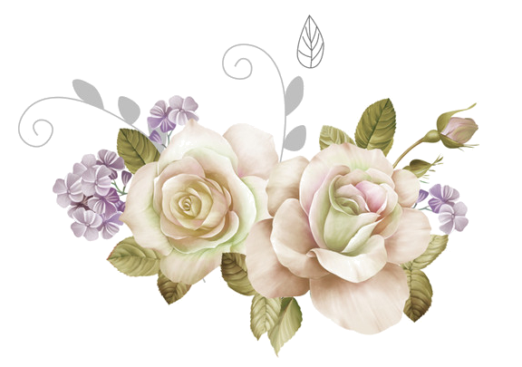 White Flowers Clipart Png