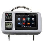 """NavPod GP2080-14 SystemPod Pre-Cut f/Raymarine a95/a97/a98 & 2 Instruments f/12"""" Wide Guard"""