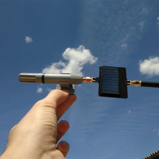 SLoRa - Wireless weather station for agriculture