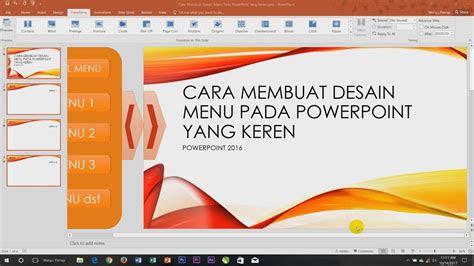 Cara Membuat Template Powerpoint Keren