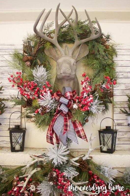 Welcome to the 2015 Southern Home Fall Tour | Christmas Party Decorations | Pinterest | Christmas mantels, Tartan plaid and Mantels