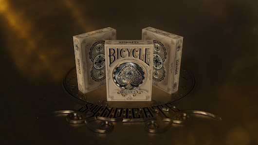 Bicycle® Syndicate Playing Cards Deck Printed By USPCC