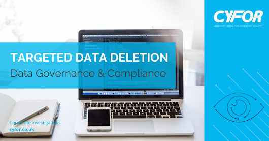 Targeted Data Deletion | Erasing confidential data from digital devices | CYFOR
