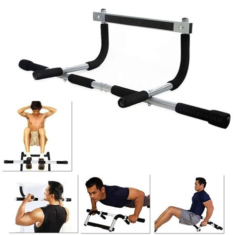 exercise fitness home door pull  bar chin  sit